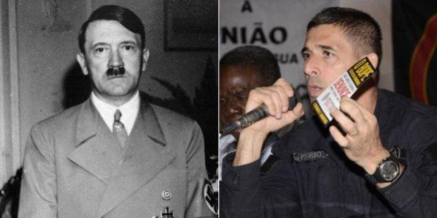 Coronel da PM que se comparava a Adolf Hitler é exonerado pelo secretário de Segurança do