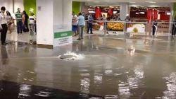ASSISTA: Padrão Fifa? Aeroporto de Brasília fica alagado a 9 dias da