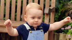 Parabéns, George! Bebê real completa um ano de