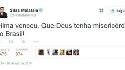 Tucanos lamentam a derrota de Aécio Neves no