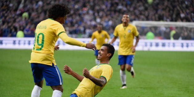 Brasil vence França por 3x1 com gols de Oscar, Neymar e Luiz