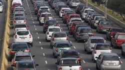Recorde de congestionamento em São