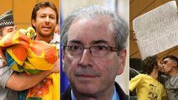 Eduardo Cunha é vaiado e hostilizado: 'Machista, corrupto,