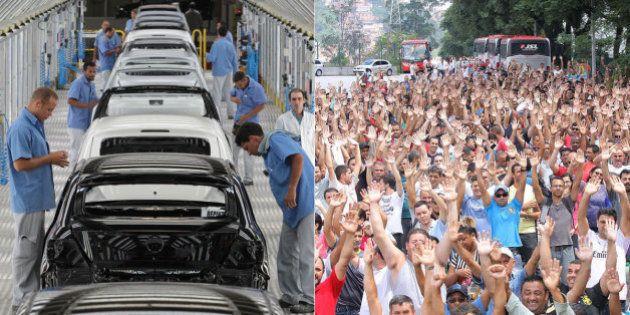 Mais de mil trabalhadores são demitidos pela indústria automobilística e número pode dobrar no 1º trimestre...
