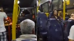 ASSISTA: Motorista de ônibus discrimina passageiro catador de latinha no