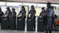 Greve de metrô continua em São Paulo, e PM reage com
