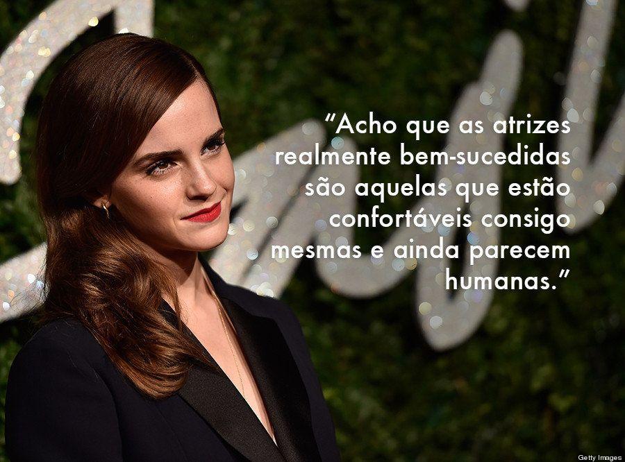 7 frases de Emma Watson que vão desafiar sua opinião sobre os jovens de