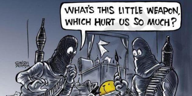 Charlie Hebdo: Desenhistas do mundo todo homenageiam chargistas mortos por ataque terrorista a revista