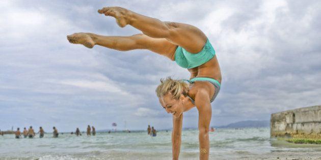 Estas imagens vão te deixar com vontade de fazer yoga
