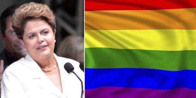 Reeleita, Dilma Rousseff defende a criminalização da homofobia: 'Uma medida civilizatória contra a