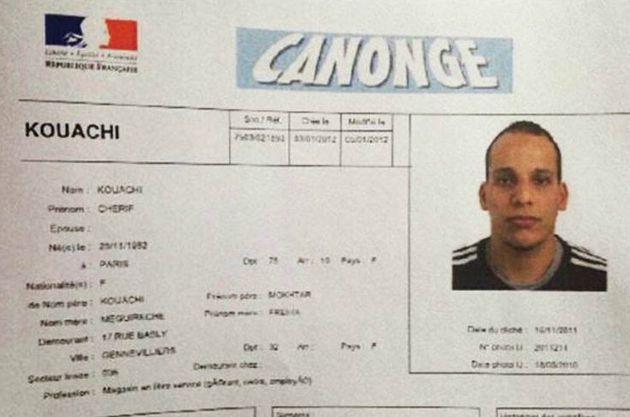 Ataque à Charlie Hebdo: polícia divulga nomes dos três suspeitos do atentado em