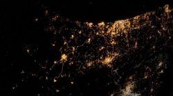 Astronauta fotografa bombardeios em Gaza do