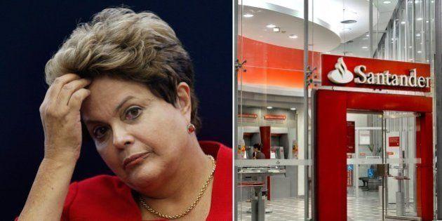 Em comunicado a clientes VIP, Santander faz análise negativa de candidatura de Dilma e gera boicote de...