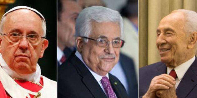 Papa promove encontro inédito com líderes israelense e