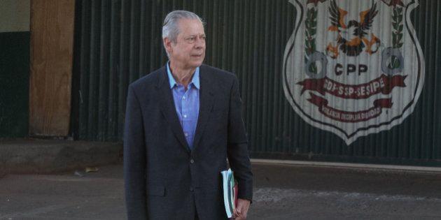 Ex-ministro Zé Dirceu dá entrada em hospital com suspeita de