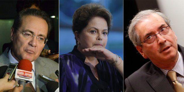 Fogo amigo: PMDB encurrala Dilma no Congresso Nacional e pretende engrossar oposição a ela no segundo