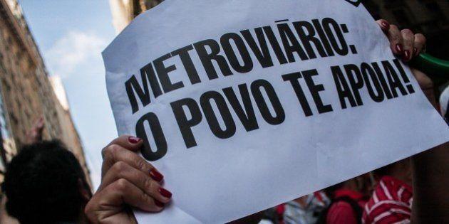 Greve no metrô de São Paulo é suspensa, mas pode ser retomada no dia da abertura da
