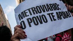 Metroviários suspendem greve, mas ameaçam retomá-la na abertura da