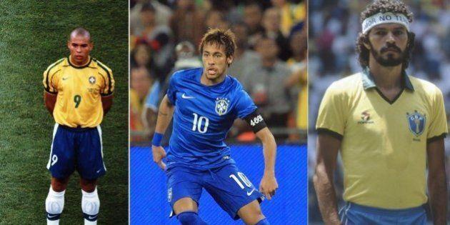 Copa 2014: Relembre os modelos das camisetas da Seleção usadas em