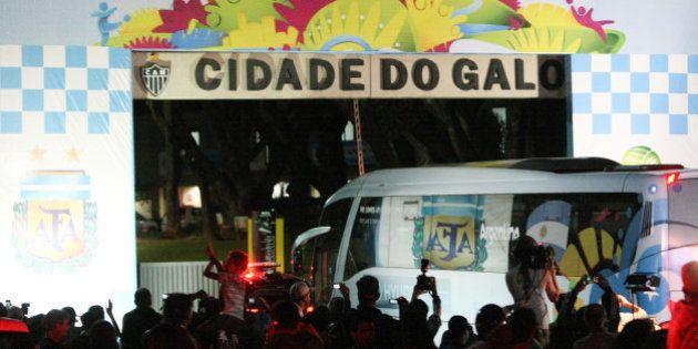 Copa 2014: Argentina chega a BH e