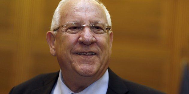 Israeli presidential candidate and former minister and Knesset Speaker Reuven Rivlin, a veteran member...