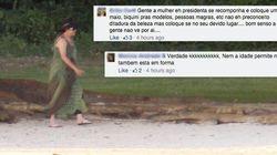 Sem pausa pro chorume: Os comentários mais sem noção sobre Dilma de biquíni nas