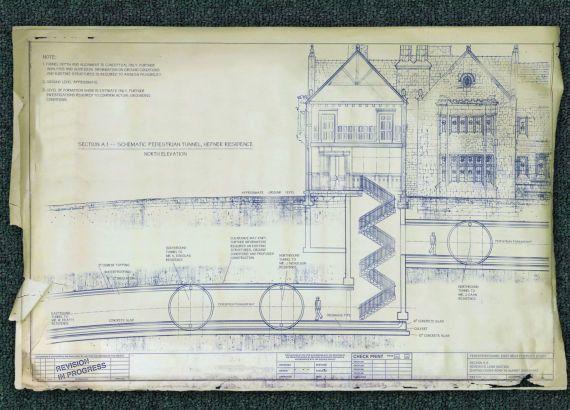 Projetos e fotos mostram que mansão Playboy tinha túneis para casas de