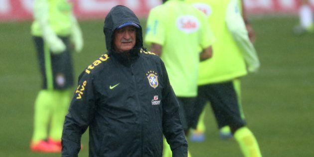 Copa 2014: Felipão testa Ramires e Bernard antes de viagem a São Paulo para