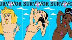 Estas personagens sobreviveram ao câncer de mama. E continuam