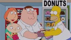 Assista ao primeiro vídeo do encontro entre Os Simpsons e Family