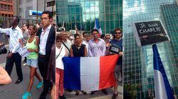 Atentados na França: Ato na Paulista homenageia vítimas de ataques em
