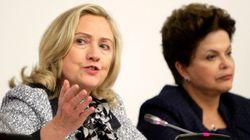 Hillary enche Dilma de elogios: 'mulher exemplo de