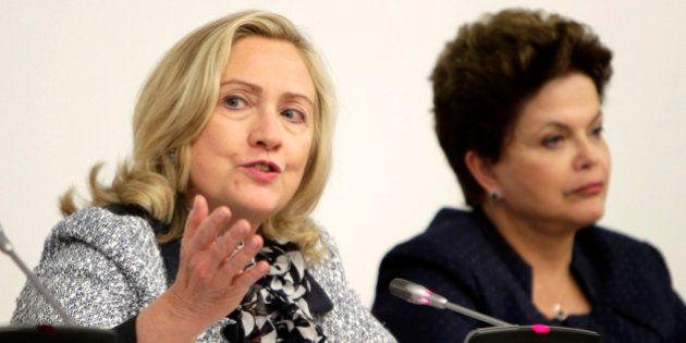 Hillary Clinton elogia Dilma Rousseff: 'uma mulher exemplo de