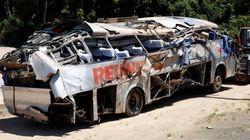 Tragédia em SC: Acidente com ônibus mata nove
