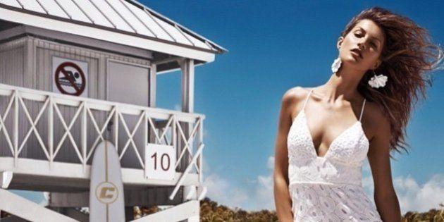 Gisele Bündchen estrela nova campanha para a Colcci ao lado de Sean O'Pry