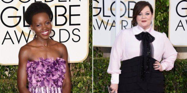 Globo de Ouro 2015: Lupita Nyong'o, Melissa McCarthy e outras famosas no Red Carpet do Globo de Ouro...