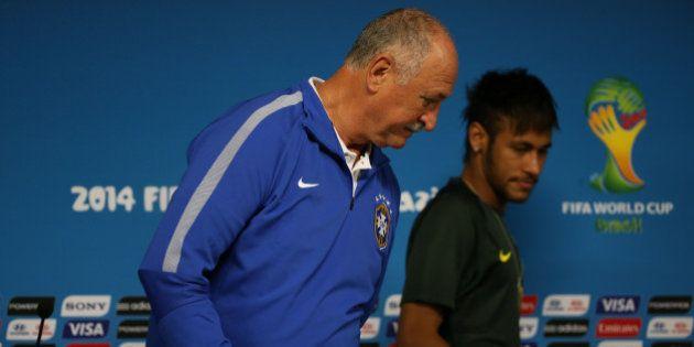 Copa 2014: Neymar e Felipão se dizem tranquilos e prontos para a estreia na