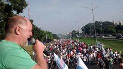 10 mil metalúrgicos vão às ruas em protesto contra demissões de