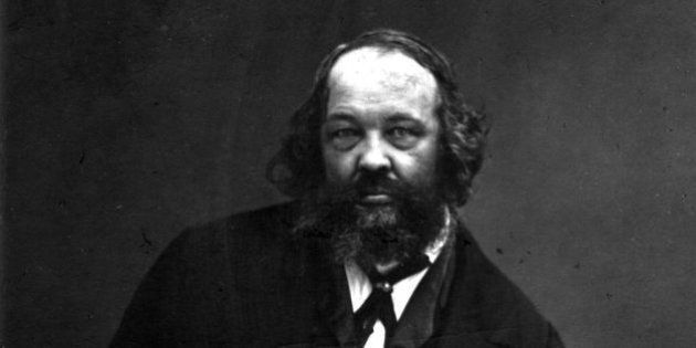 Mikhail Alexandrovich Bakunin, the father of Russian nihilism. (Photo by Nadar/Getty