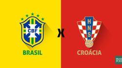 ACOMPANHE: Brasil e Croácia ao vivo e tudo que acontece na abertura da