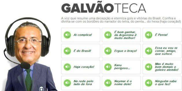 Copa 2014: Globo Esporte faz página especial para falas do narrador Galvão