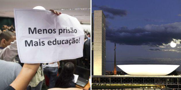 CCJ aprova tramitação da PEC que reduz maioridade penal. Parlamentares contra vão recorrer ao