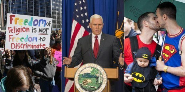 Apple, Walmart, Salesforce (e muitos outros) ameaçam boicotar Indiana, e governador afirma que vai 'REVER'...