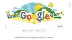 Google na Copa: doodle e infográfico sobre o que o mundo está