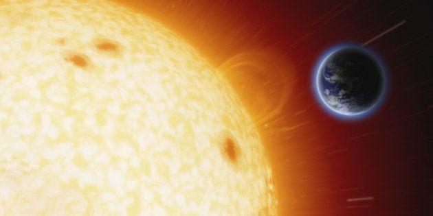 Atividade solar durante o nascimento pode influir na expectativa de