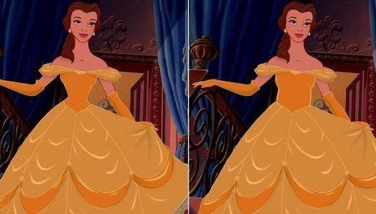 Per-fei-tas! Princesas Disney ficam ainda mais lindas com cinturas