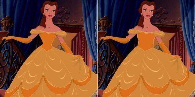 Princesas Disney ficam ainda mais lindas com cinturas realistas