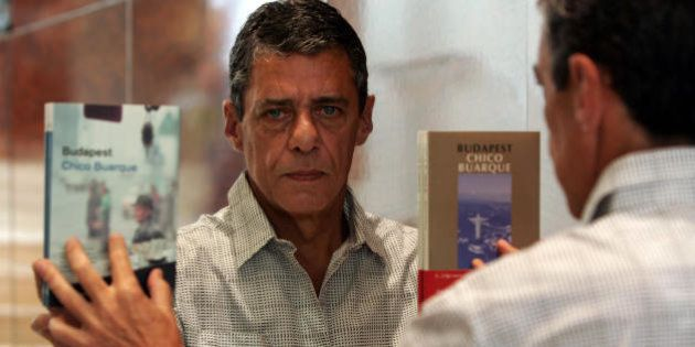 BARCELONA, SPAIN: Brazilian musician and writer Chico Buarque presents his third book 'Budapest' , 23...