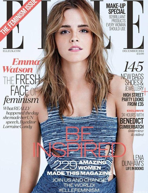 Emma Watson é estrela da primeira edição da revista Elle britânica dedicada ao feminismo