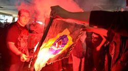 FOTOS: Violência na repressão policial e na ação dos black